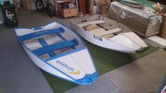 Quickboat Transformation from the Flatout Boat to the new ultimate folding boat, Quickboat