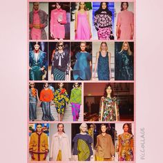 AW14 catwalk inspiration from Valentino and Giles for Caroline Oates new collection.