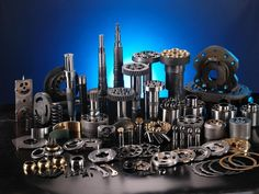 Hydraulic Pump Parts Welding Works, Hydraulic Pump, Diesel, Aviation, To Go, Old Things, Skyline, Exterior, Pumps