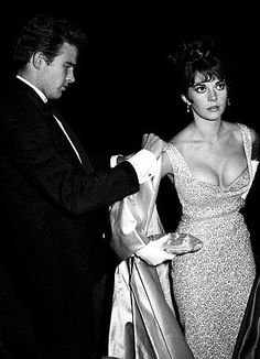 Warren Beatty and Natalie Wood