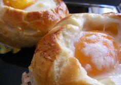 Thumbnail for Pan redondo relleno y gratinado