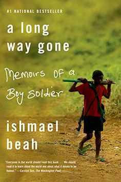 #book  A Long Way Gone Memoirs of a Boy Soldier  #books