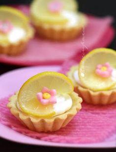 mini lemon tart