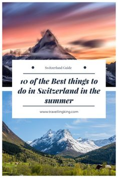 10 of the Best things to do in Switzerland in the summer. If you are looking for great things to do in Switzerland then I have some great places and activities for your Switzerland itinerary