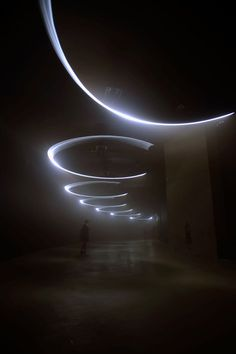 United Visual Artists  Momentum at The Curve, Barbican Center (7)