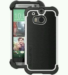 BALLISTIC-TX1308-A08C-HTC-M8-Tough-Jacket-Maxx-Case-with-Holster-White-Black