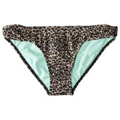 565dffb4734db Xhilaration® Junior s Leopard Hipster Swim Bottom -Black Brown Swim  Bottoms
