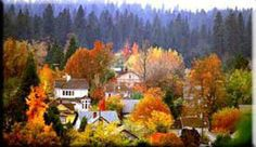 Fall in Nevada City. From On The Narrow Road Blog