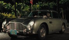 Casino Royal - the only LHD Aston Martin he drives, won in a game of poker