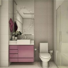 The bathroom is an essential part of the house, where it is good to take care of yourself and relax to fill with serenity. Discover our instructions for a Zen bathroom with our 8 decorating ideas: you have beautiful hours… Continue Reading → Zen Bathroom, Small Bathroom, Girl Bathrooms, Washroom, Bathroom Ideas, Small Toilet, Bathroom Organisation, Bedroom Decor, House Design