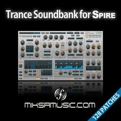 My brand new soundbank for Reveal Sound's Spire is here. With rich and powerful sounds you will find it useful for your trance productions. It contains a whole bank of 128 categorized presets, including basses, leads, various synth sounds, pads and a few textures and FX sounds. All the programs have the modulatin wheel assigned to morph the sounds instantly.