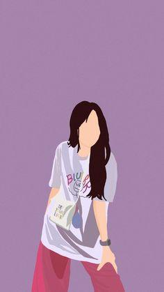 Cartoon Girl Images, Cartoon Art Styles, Girl Cartoon, Cute Cartoon Wallpapers, Animes Wallpapers, Cover Wattpad, Desenhos Harry Potter, Korean Art, Digital Art Girl