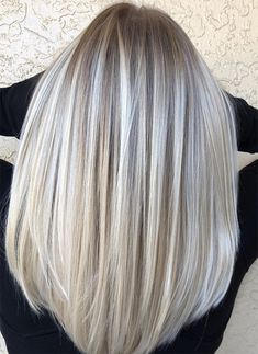 Simply Gorgeous Silver Hair Color Ideas 2018