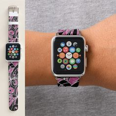 SOLD Apple Watch Bands Drawing Floral https://www.zazzle.com/apple_watch_bands_drawing_floral-256245849932492663 #Zazzle #Apple #Watch #Bands #Drawing #Floral #doodle #abstract