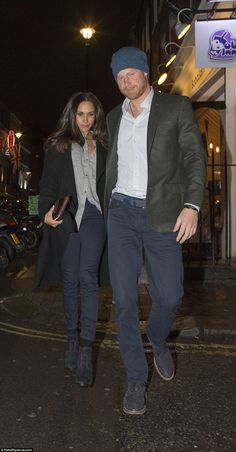 The couple were first pictured together in Christmas last year and again in London visitin...