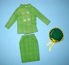 BARBIE Japanese Exclusive Green Suit