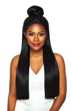 Outre Synthetic Swiss X 4 Way Part Lace Front Wig Vixen Yaki - Elevate Styles Little Girls Coats, Kids Coats, Black Women Art, Vixen, Lace Front Wigs, Toddler Girls, Baby Girls, Female Art, Hair Beauty