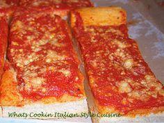 What's Cookin' Italian Style Cuisine: Tomato Pie Recipe Upstate New York