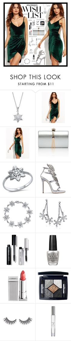 """#PolyPresents: Wish List #245"" by emydeishly ❤ liked on Polyvore featuring Primrose, Giuseppe Zanotti, Bling Jewelry, Bobbi Brown Cosmetics, OPI, Lipstick Queen, Christian Dior and Trish McEvoy"