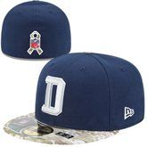 New Era Dallas Cowboys Salute To Service 59FIFTY Fitted Hat - Navy Blue