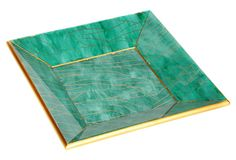 "8"" Marbled Tray, Green on OneKingsLane.com"