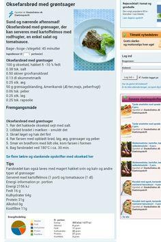 Oksefarsbrød m. grøntsager