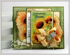 How to Create a Best Wishes Card With Crafty Secrets Digital Garden Scraps