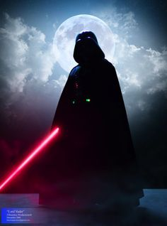 Darth Vader, Dark Lord of the Sith's silhouette.
