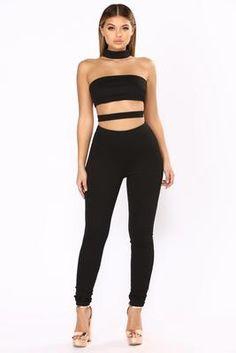 4c9b351e85aa In The Clear Cutout Jumpsuit - Black Fashion Nova Jumpsuit