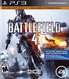 Battlefield 4 for Playstation 3.