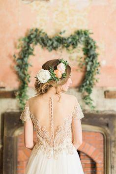 Bridal Hair |  | Brinkburn Northumberland Floral Inspiration Shoot | Bels Flowers | Katy Melling Photography | http://www.rockmywedding.co.uk/beautiful-floral-inspiration-at-brinkburn/