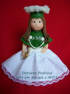 Topo de bolo para formatura em ABC Visite nossa lojas virtual e confiram nossos trabalhos. www.mariacerejaartes.com.br