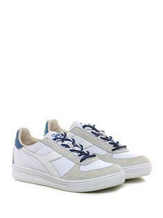 DIADORA Heritage - Sneakers - Uomo - Sneaker in camoscio e tessuto effetto  delavè con suola 54d1cfd3f69