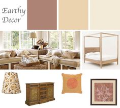 Winter blues got you down? How about warming up your decor with an earthy color scheme. Natural tones and textures will enliven your space and can be accented with amaretto and gold color tones. Family Room Design, Family Rooms, Living Rooms, Interior Design Help, Color Tones, Your Space, Earthy, Paint Colors, Color Schemes