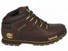Timberland Boots Mens Eurosprint Dark Brown