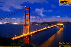 Golden Gate Bridge, San Francisco..!! Most Photographed Bridge In The world..!! Call : 78-78-884-884, www.hello2taxi.com  For More Information #Click Here .. http://tea2taxi.blogspot.in/