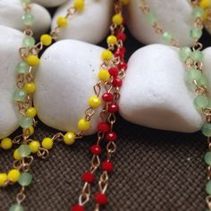 Handmade necklaces rosary