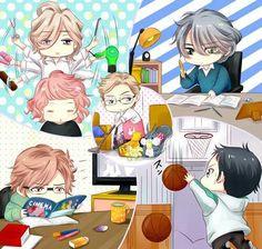 Brothers Conflict | Subaru, Masaomi, Louis, Ukyo Iori anf Wataru