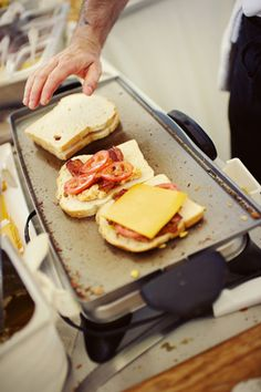 Create Your Own Grilled Cheese