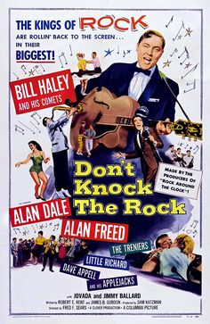 How Bill Haley & His Comets rocked around the clock when rock 'n' roll was brand new Rock N Roll Music, Rock And Roll, Alan Freed, Lord Jim, Bill Haley, Rock Around The Clock, Buddy Holly, Chuck Berry, Vintage Movies