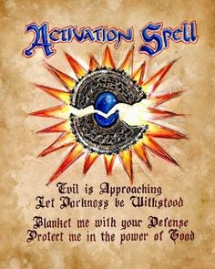 spells from charmed book of shadows | Activation Spell | Charmed: Book Of Shadows