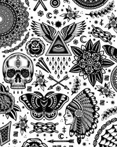 Super tattoo old school black galleries 17 Ideas - tattoo. - Super tattoo old school black galleries 17 Ideas – tattoo. Old School Tattoo Designs, Tattoo Designs Men, Small Tattoo Designs, Tattoo Design Drawings, Tattoo Sketches, Design Tattoos, Forearm Tattoo Design, Traditional Tattoo Man, Traditional Tattoo Filler