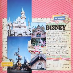 paper: pretty paper. true stories. {and scrapbooking classes with cupcakes.}: Sketch to Scrapbook Page :: Scrapbooking with both square and standard photos