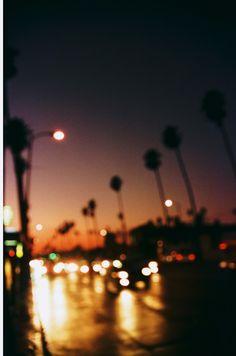 a rainy day in LA
