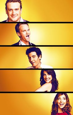 How I met your mother cast. Tomorrow (for me) is the series finale. I have so many feels and questions.