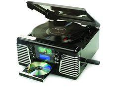 Retro musiikkisoitiin CD/LP/MP3 ..äänitys SD ja USB muistikorteille/tikulle