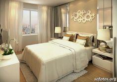 decoração quarto de casal pequeno - Pesquisa Google