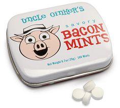 ThinkGeek :: Bacon Mints