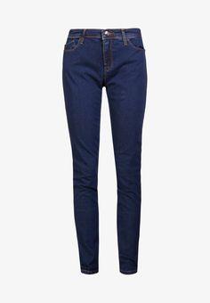 958ea18c6 Emporio Armani Jeans Skinny Fit - blue denim - Zalando.de Armani Jeans,  Emporio