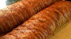 Amerikansk farsbrød med ost og bacon Bacon, Sunday Roast, Dinner Is Served, Recipe Images, Lchf, Soul Food, Sausage, Recipies, Food Porn